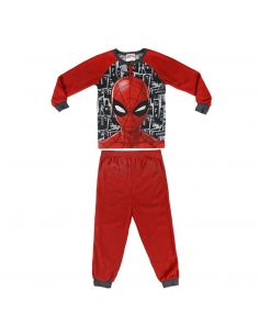 PIJAMA LARGO POLAR SPIDERMAN