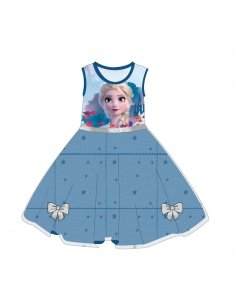 VESTIDO TUL SINGLE JERSEY FROZEN 2
