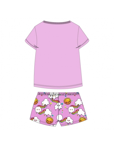 PIJAMA CORTO SINGLE JERSEY POOPSIE