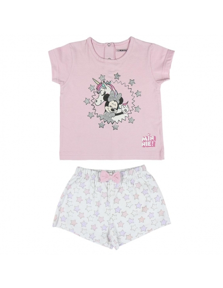 PIJAMA CORTO SINGLE JERSEY MINNIE