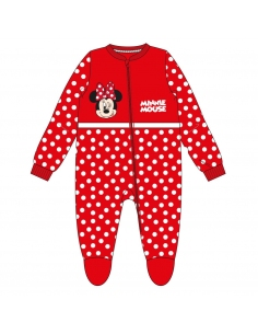 PIJAMA DORMILÓN CORAL FLEECE MINNIE