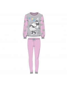 PIJAMA LARGO INTERLOCK MINNIE