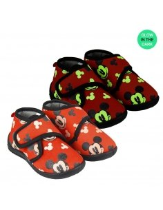 ZAPATILLAS DE CASA MEDIA BOTA MICKEY