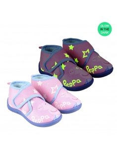 ZAPATILLAS DE CASA MEDIA BOTA PEPPA PIG