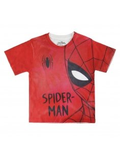 CAMISETA CORTA PREMIUM SPIDERMAN