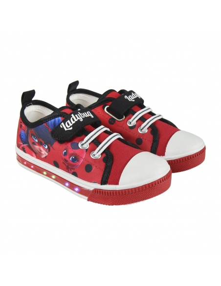 ZAPATILLA LONETA LUCES LADY BUG