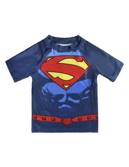 CAMISETA BAÑO SUPERMAN