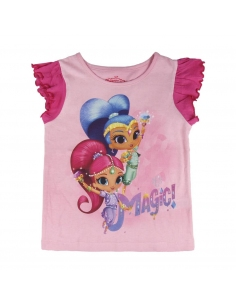 CAMISETA MANGA CORTA SHIMMER AND SHINE
