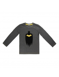 CAMISETA MANGA LARGA BATMAN