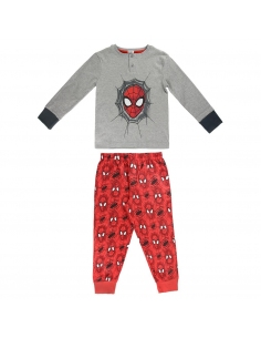 PIJAMA LARGO ALGODÓN PREMIUM SPIDERMAN