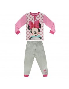 PIJAMA LARGO ALGODÓN MINNIE