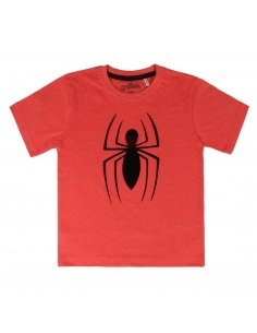 CAMISETA CORTA PREMIUM SINGLE JERSEY SPIDERMAN