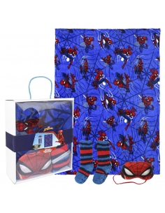 SET REGALO MANTA SPIDERMAN