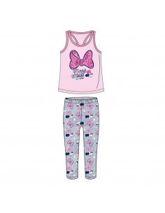 CONJUNTO 2 PIEZAS GLITTER SINGLE JERSEY MINNIE