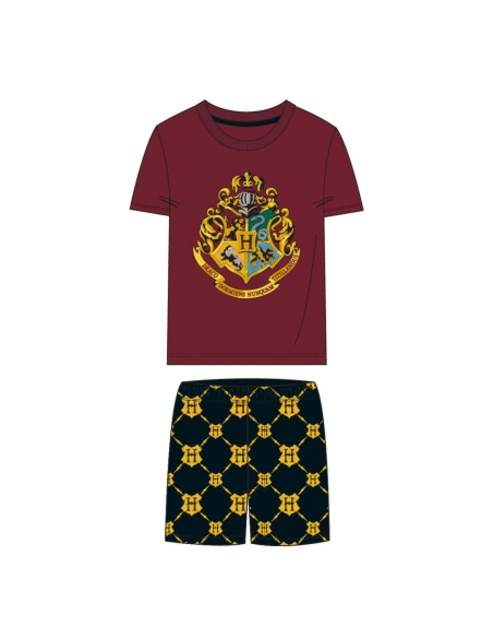 PIJAMA CORTO SINGLE JERSEY HARRY POTTER