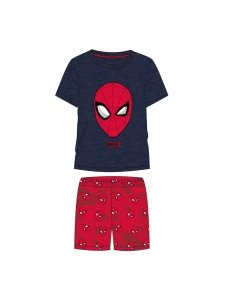 PIJAMA CORTO SINGLE JERSEY SPIDERMAN