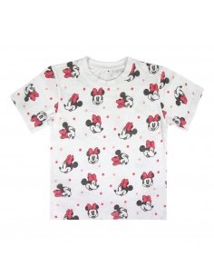CAMISETA CORTA PREMIUM SINGLE JERSEY MINNIE