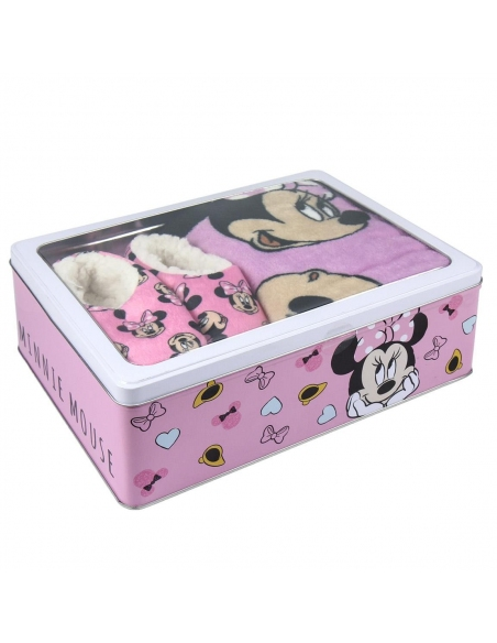 SET CAJA METÁLICA MINNIE