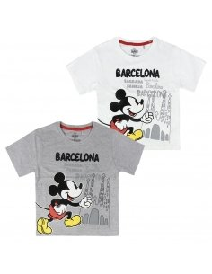 CAMISETA CORTA SINGLE JERSEY MICKEY