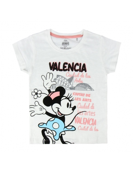 CAMISETA CORTA SINGLE JERSEY MINNIE