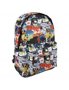 MOCHILA ESCOLAR INSTITUTO BATMAN
