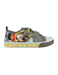ZAPATILLA LONETA LUCES MICKEY ROADSTER