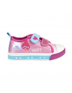 ZAPATILLA LONETA LUCES TROLLS