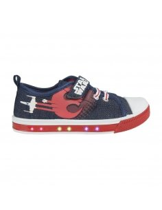 ZAPATILLA LONETA LUCES STAR WARS VIII