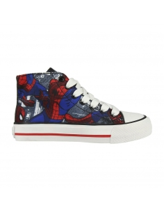ZAPATILLA LONETA VULCANIZADA SPIDERMAN