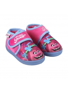 ZAPATILLAS DE CASA MEDIA BOTA TROLLS