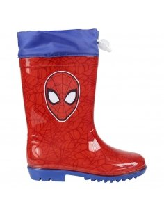 BOTAS LLUVIA PVC SPIDERMAN