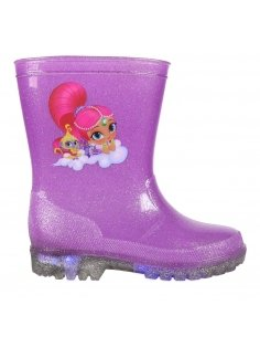 BOTAS LLUVIA PVC LUCES SHIMMER AND SHINE