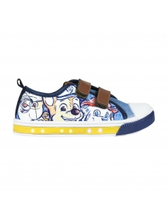 ZAPATILLA LONETA LUCES PAW PATROL