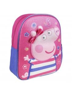 MOCHILA INFANTIL 3D PREMIUM PEPPA PIG