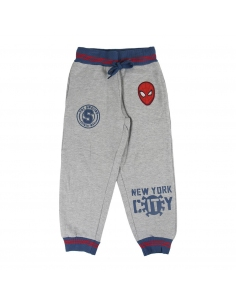 PANTALÓN LARGO BRUSH FLEECE SPIDERMAN