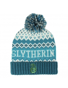 GORRO POMPON HARRY POTTER SLYTHERIN