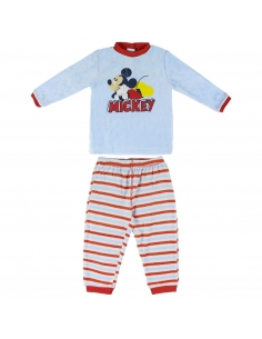 PIJAMA LARGO VELOUR MICKEY