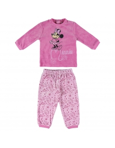 PIJAMA LARGO VELOUR MINNIE