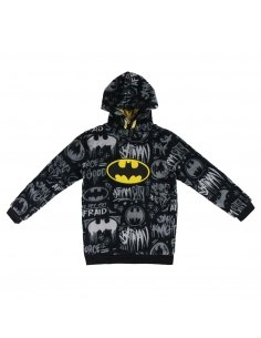 SUDADERA CON CAPUCHA CORAL FLEECE BATMAN