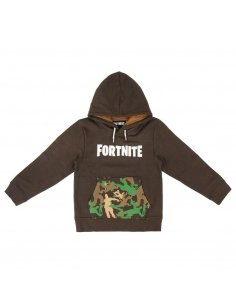 SUDADERA CON CAPUCHA BRUSH FLEECE FORTNITE
