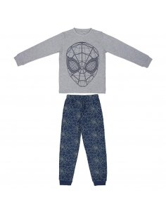 PIJAMA LARGO INTERLOCK SPIDERMAN