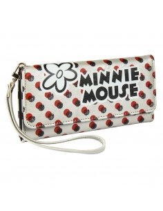 CARTERA TARJETERO POLIPIEL MINNIE