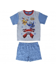 PIJAMA CORTO ALGODÓN SUPER WINGS