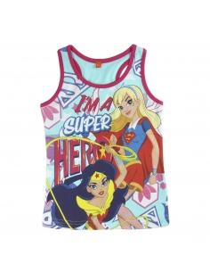 CAMISETA TIRANTES DC SUPERHERO GIRLS
