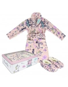 SET REGALO HOGAR FLANNEL FLEECE PEPPA PIG