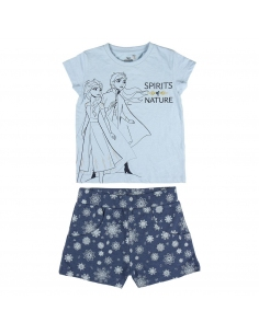 CONJUNTO 2 PIEZAS SINGLE JERSEY FROZEN 2